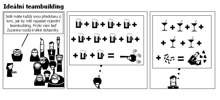 Ideální teambuilding