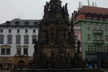 Sloup nejsvětější trojice - dominanta Olomouce